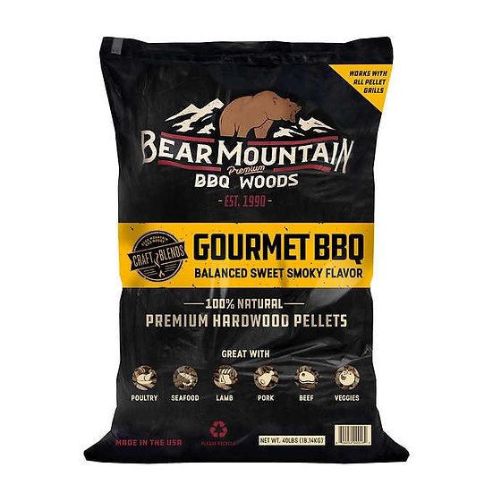 Bear Mountain BBQ Gourmet BBQ Pellets, 40 lb