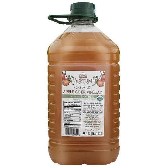 Acetum Organic Apple Cider Vinegar with the Mother, 128 fl. oz.