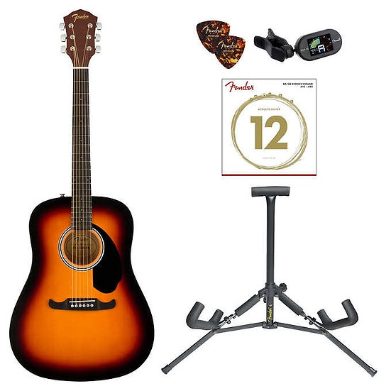 Fender FA-125 Acoustic Guitar Bundle