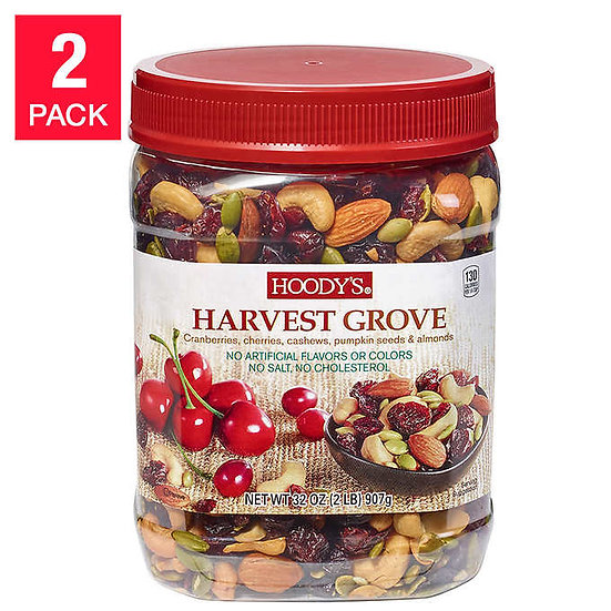 Hoody's Harvest Grove Trail Mix, 32 oz, 2-pack