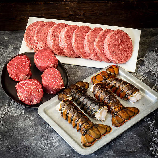 Chicago Steak USDA Prime Surf & Turf, 7lbs