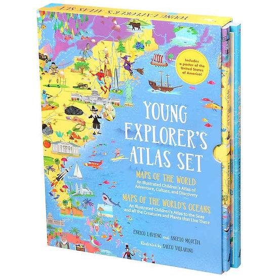 Young Explorer's Atlas Set