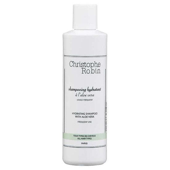 Christophe Robin Hydrating Shampoo with Aloe Vera, 8.33 fl oz