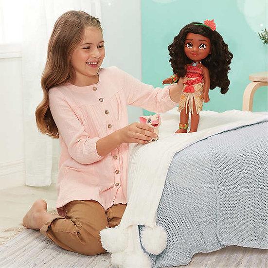Disney Princess Doll Tea Time with Moana and Pua