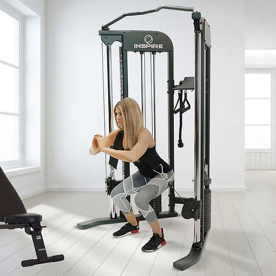 Inspire Fitness FTX Functional Trainer w/Bench & 1-Year Inspire Fitness App