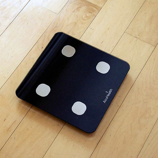 AcuHealth Body Fat Scale and Fitness Analyzer