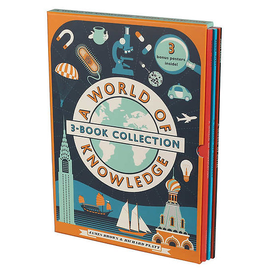 A World Of Knowledge: 3 Book Collection