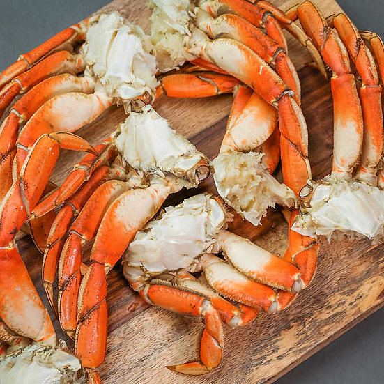 Northwest Fish Wild Dungeness Crab Sections, 10 lbs