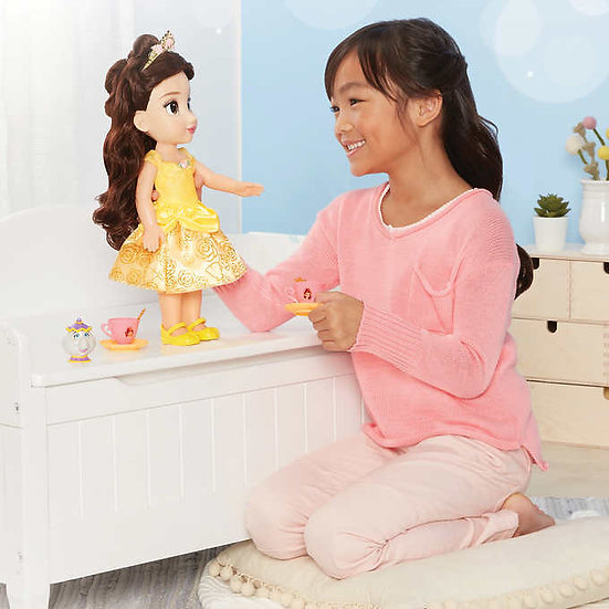 Disney Princess Doll Tea Time with Belle and Mrs. Potts