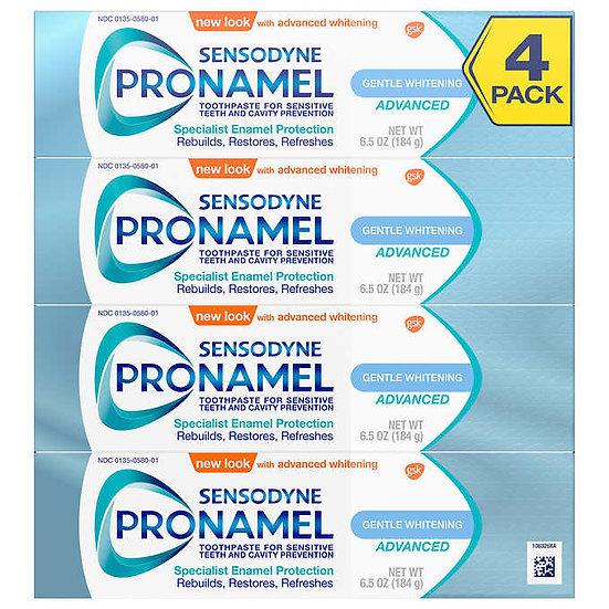 SENSODYNE Pronamel Gentle Whitening Advanced Toothpaste 6.5 oz, 4-pack