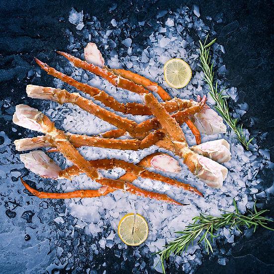 Northwest Fish Jumbo Alaskan Golden King Crab Legs, 12-14 Count, 10 lbs