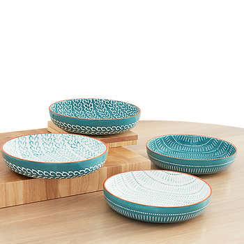 Baum Fez Dinner Bowls, 4pk