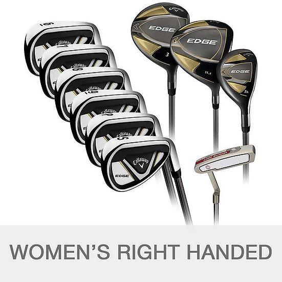Callaway Edge 10-piece Women's Golf Club Set, Right Handed - Grap