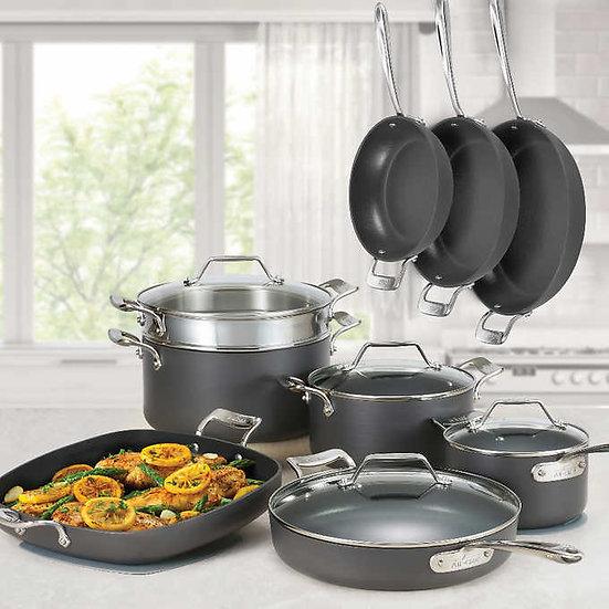 All-Clad Essentials Nonstick 13-piece Cookware Set