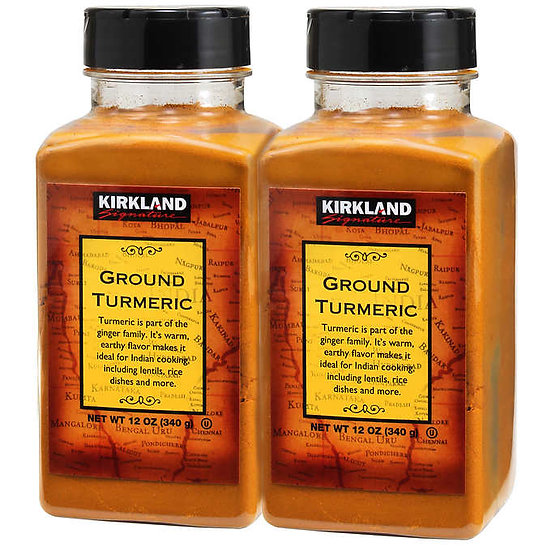 Kirkland Signature Ground Turmeric, 12 oz., 2-count
