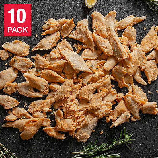 Daring Original Plant-Based Chicken Substitute Pieces 10 oz, 10-pack, 6.25 lbs