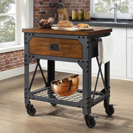 Whalen Vintage Kitchen Cart, Model  CSC30KC-1