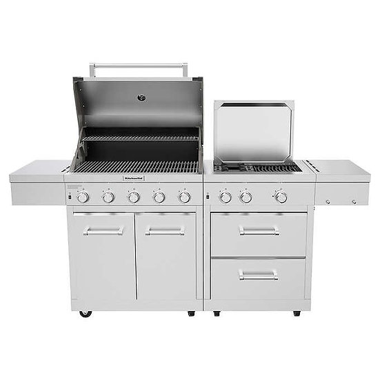 KitchenAid Stainless Steel 8-Burner Grill, Model  720-0990C