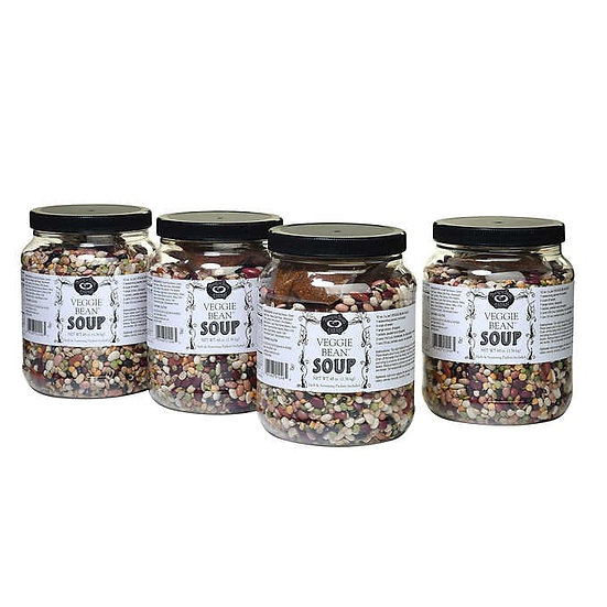 Buckeye Beans and Herbs Veggie Bean Soup 4 - 36 Serving Pack