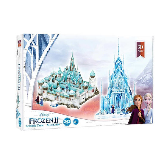 Disney Frozen 2 Arendelle and Ice Palace 3D Puzzle