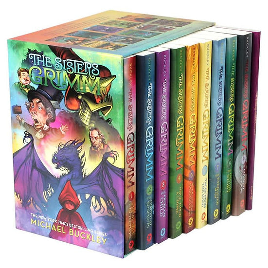 The Sisters Grimm: 10 Book Box Set by Michael Buckley