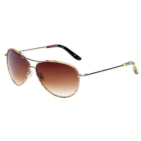 Vera Bradley Barbara Tutti Frutti Floral Sunglasses, Women's