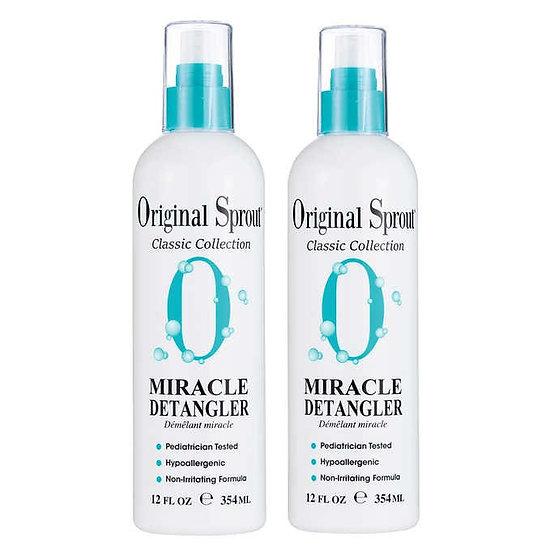 Original Sprout Miracle Detangler 12.0 fl oz, 2-pack