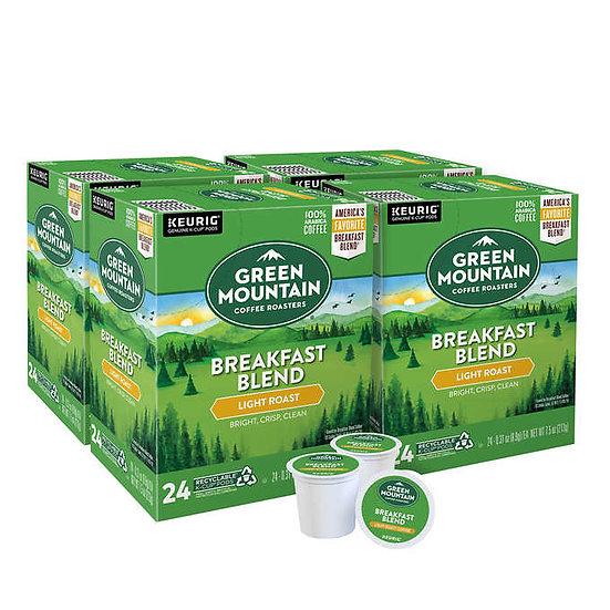Green Mountain Coffee Breakfast Blend K-Cup Pod, 96-count