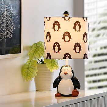 Penguin Figurine Table Lamp