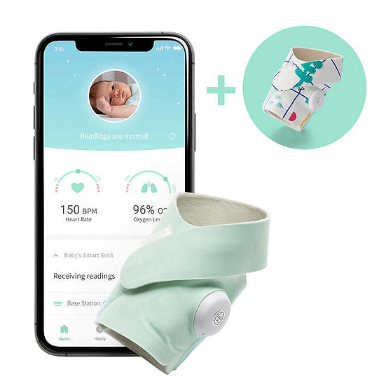 Owlet Smart Sock 3, Includes Additional Accessory Socks