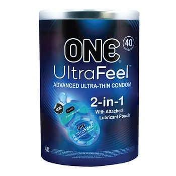 ONE UltraFeel, 40 Condoms