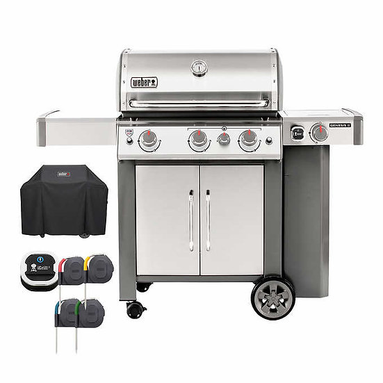 Weber Genesis II S-345 3 Burner Gas Grill, Model  61006599