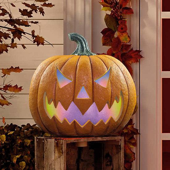 LED Halloween Jack-O'-Lantern Pumpkin