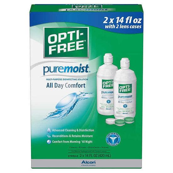 OPTI-FREE PureMoist Multi-Purpose Solution, 28 Ounces