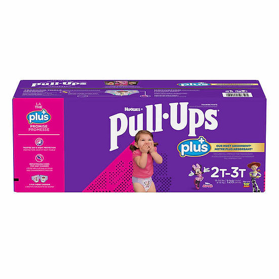 Huggies Pull-Ups Plus Training Pants For Girls