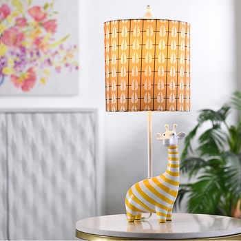 Giraffe Figurine Table Lamp