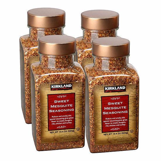 Kirkland Signature Sweet Mesquite Seasoning 19.6 oz, 4-pack