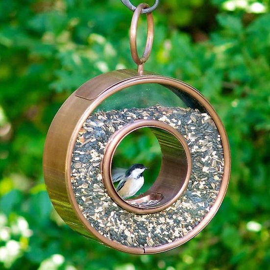 Circle Fly-Thru Bird Feeder