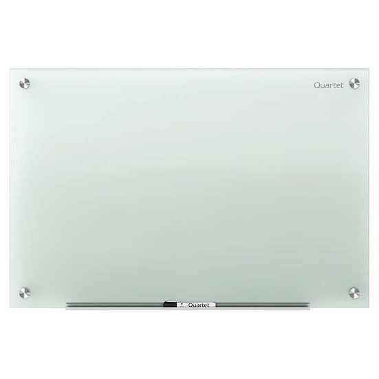 Quartet Infinity Glass Marker Board Frosted 72 x 48