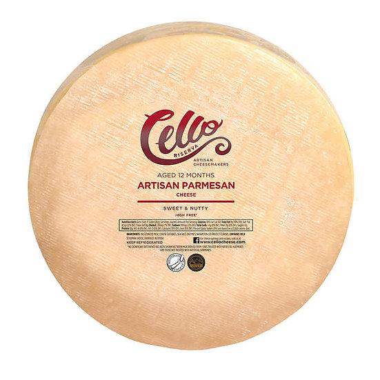 Cello Riserva Artisan Parmesan Cheese Wheel 20 lbs
