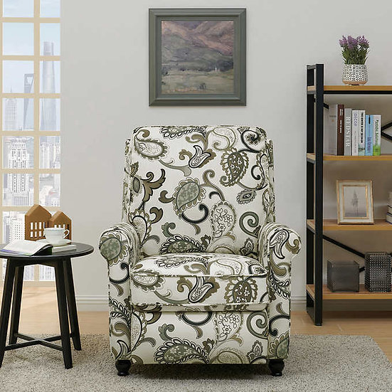Keaton Fabric Pushback Recliner Chair