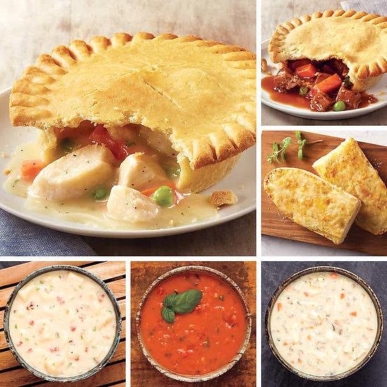 Schwan's 12 Pot Pies and 3 Soups