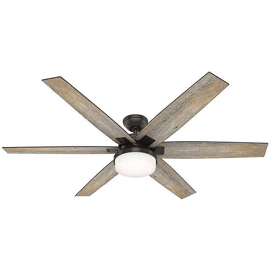 "Hunter Kaplan LED 64"" Ceiling Fan"