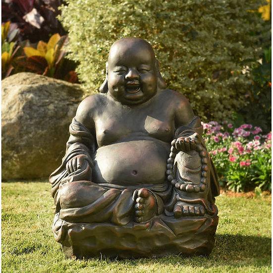 Smiling Buddha Statue