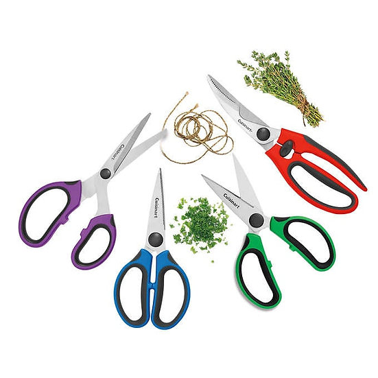 Cuisinart 4-piece Stainless Steel Shears Set