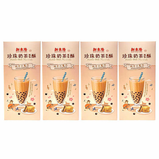 Hsin Tung Yang Bubble Tea Cake 8.8 oz, 10-ct, 4-pack