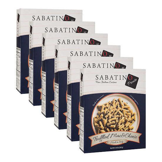 Sabatino Tartufi Truffle Macaroni & Cheese With Black Truffles 6 X 9.16 oz. Pack