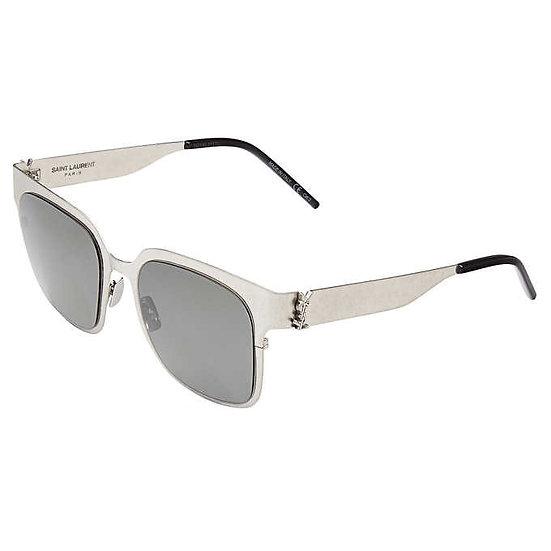 Saint Laurent SLM41 Silver Grey Sunglasses