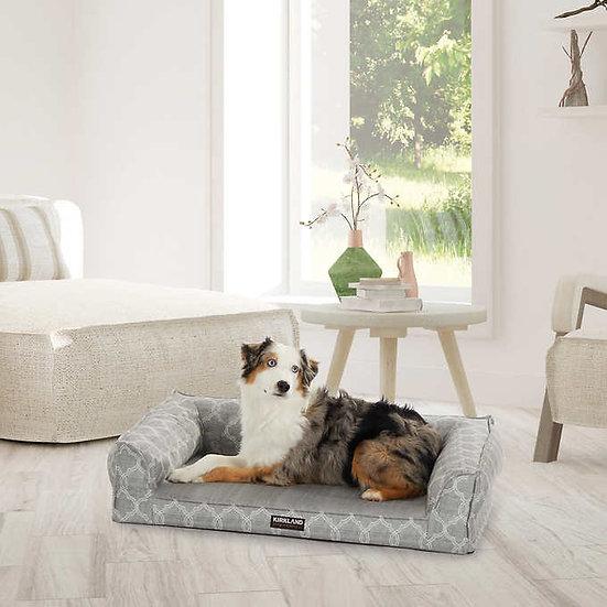 "Kirkland Signature 24"" x 36"" Medium Dog Sofa Bed, Gray"