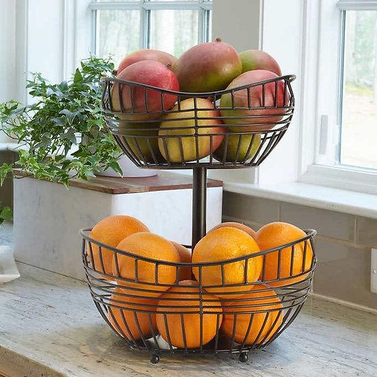 2-Tier Fruit Basket by Scott Living